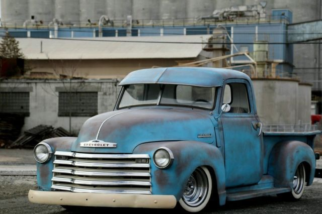 1953 Chevy 3100 Truck Rat Rod Hot Rod Custom Slammed Lowered