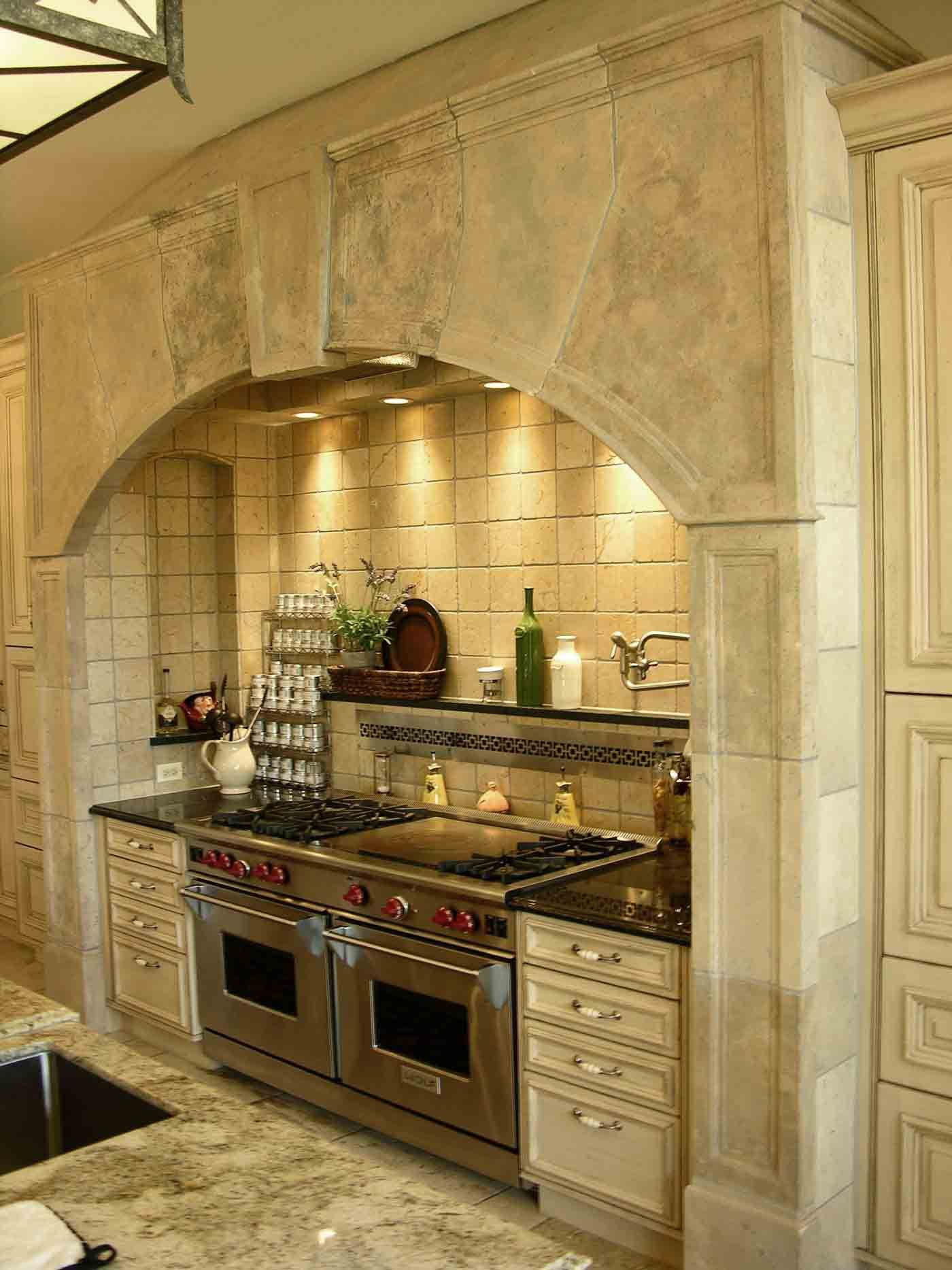 Kitchen Range Hood Design Ideas Part - 26: Architectural Stone | Best Kitchen Range Hoods Gallery | Materials  Marketing. I Could Live With