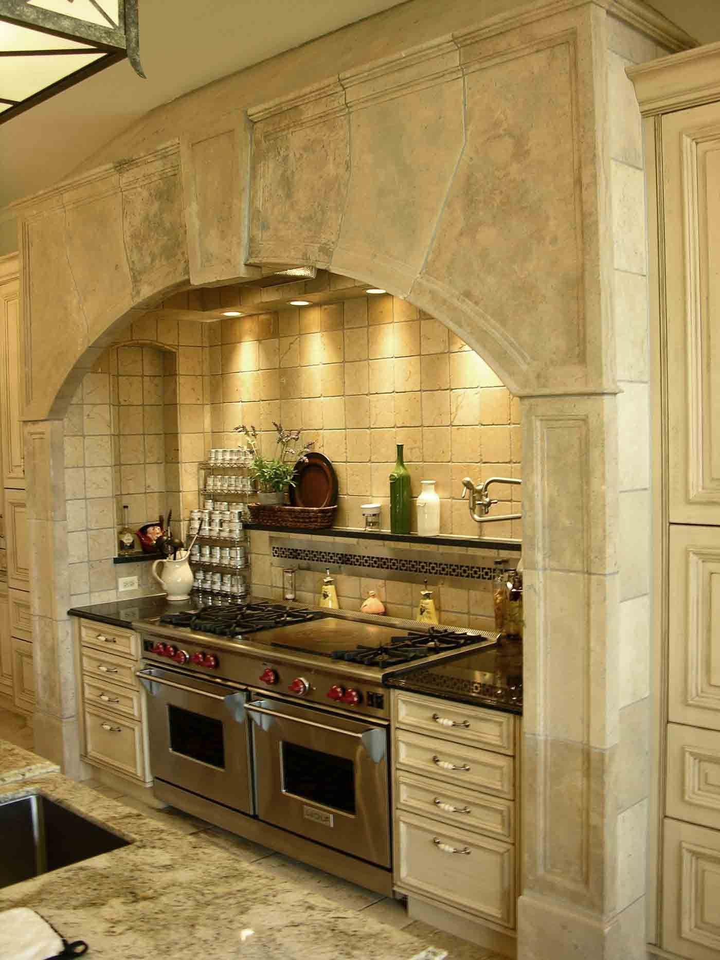 Best Kitchen Gallery: Architectural Stone Best Kitchen Range Hoods Gallery Materials of Stone Kitchen Hoods on rachelxblog.com
