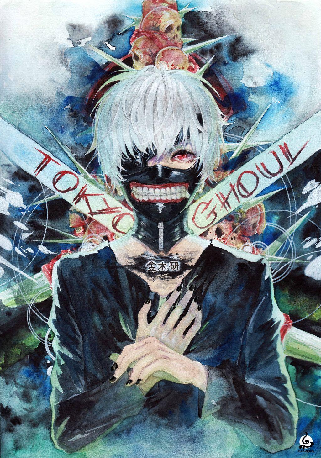 Tokyo Ghoul [FAN ART] by on