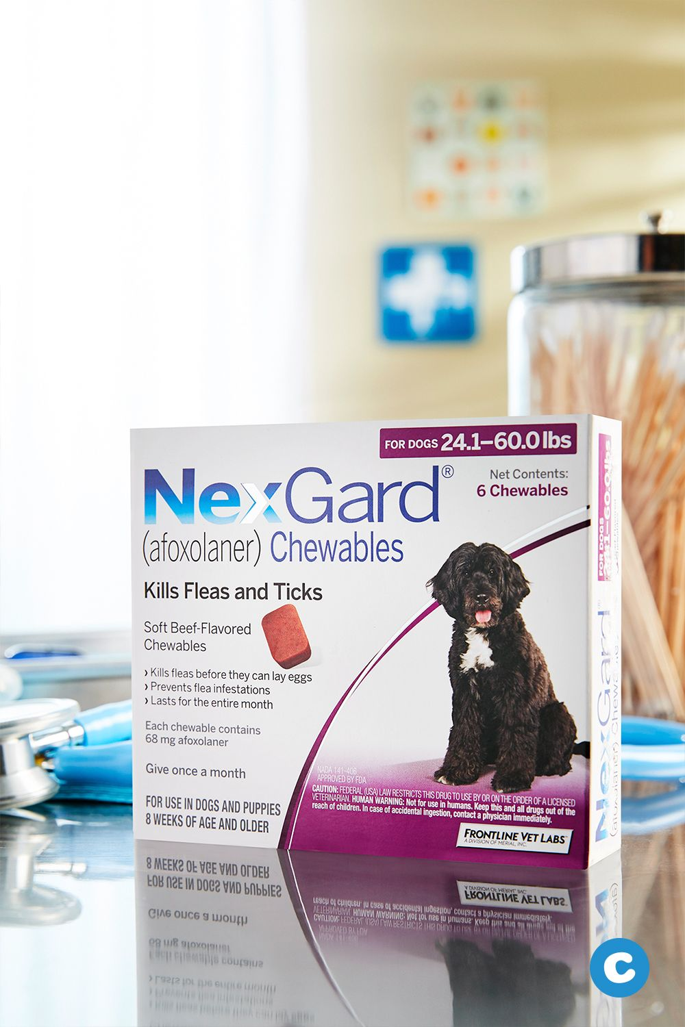 Nexgard Chewables For Dogs 24 1 60 Lbs 3 Treatments Purple Box Chewy Com Lyme Disease In Dogs Dog Help Brown Dog Tick