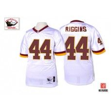 Mitchell and Ness Washington Redskins #44 John Riggins White  free shipping
