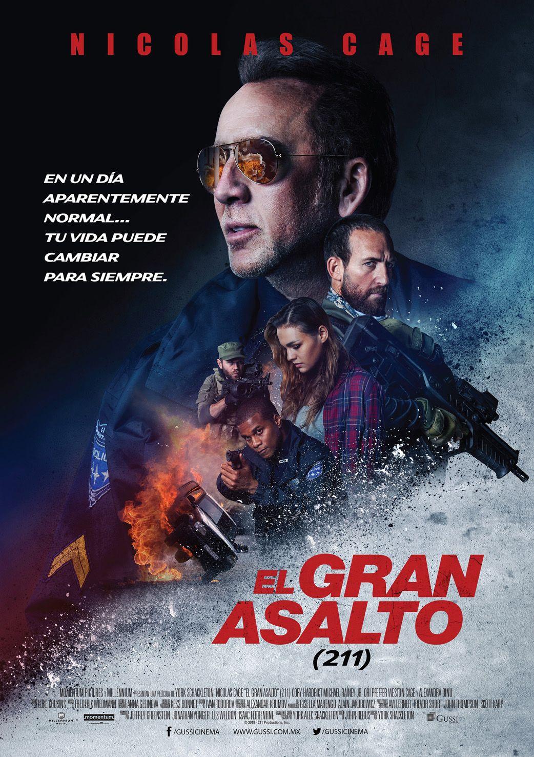 """""""El Gran Asalto"""" (211). movies in 2019 Movie posters"""