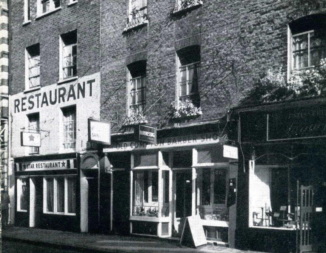 Old Compton Street Compton Street London Street London Cafe