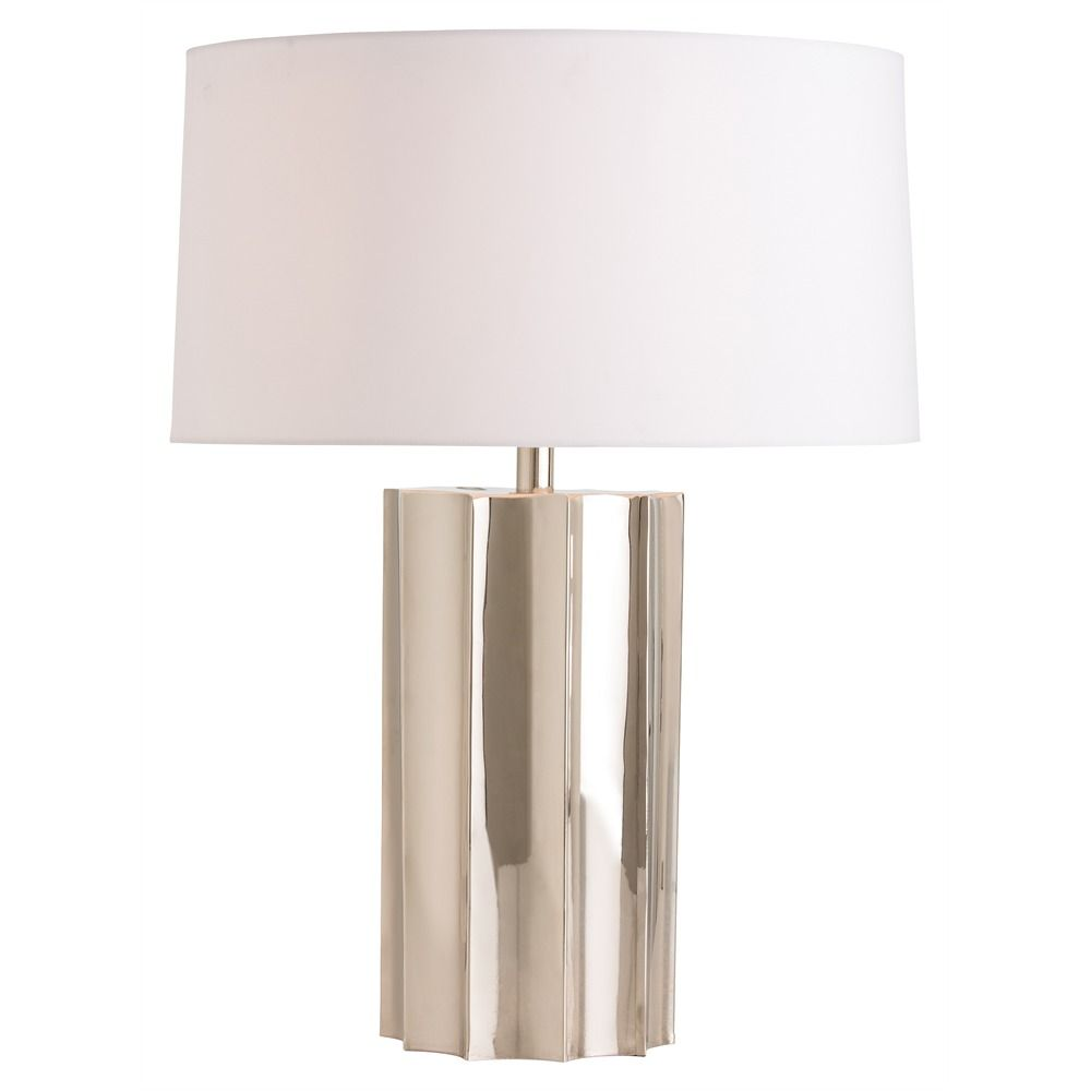 The arteriors jensen table lamp presents metallic dimension crafted the arteriors jensen table lamp presents metallic dimension crafted to call upon folded origami shapes this lighting accent presents stunningly reflective aloadofball Image collections
