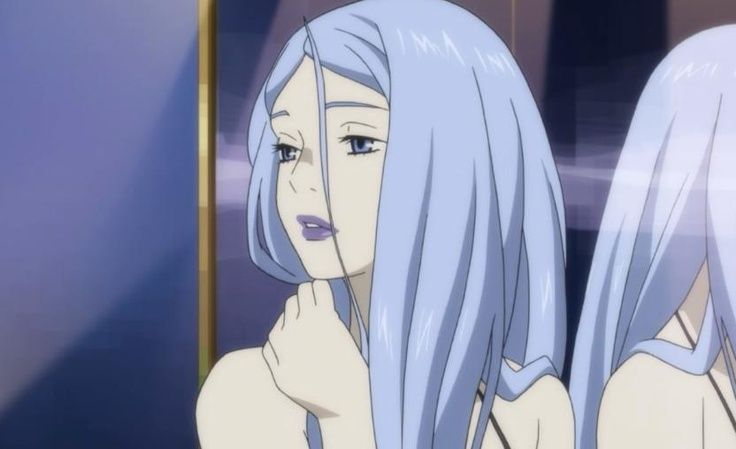 Eden Of The East Blue Hair Girl Google Search Anime Aesthetic Anime Cartoon Profile Pictures