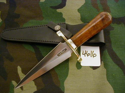 "RANDALL KNIFE KNIVES MODEL #13-6"",SS,LH,BC,IW,BCB.BS"
