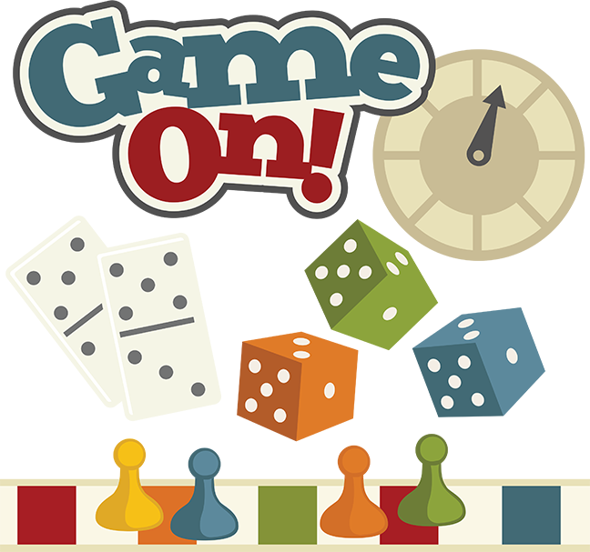 Game On! SVG Scrapbooking Files Clip art, Board game