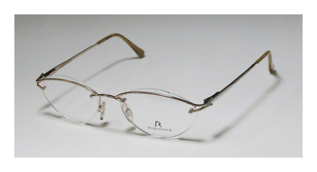 6ce2b511a1e Rodenstock R4202 Womens Ladies Ophthalmic Premium Quality Designer Halfrim Flexible  Hinges Eyeglasses Spectacles 5117135