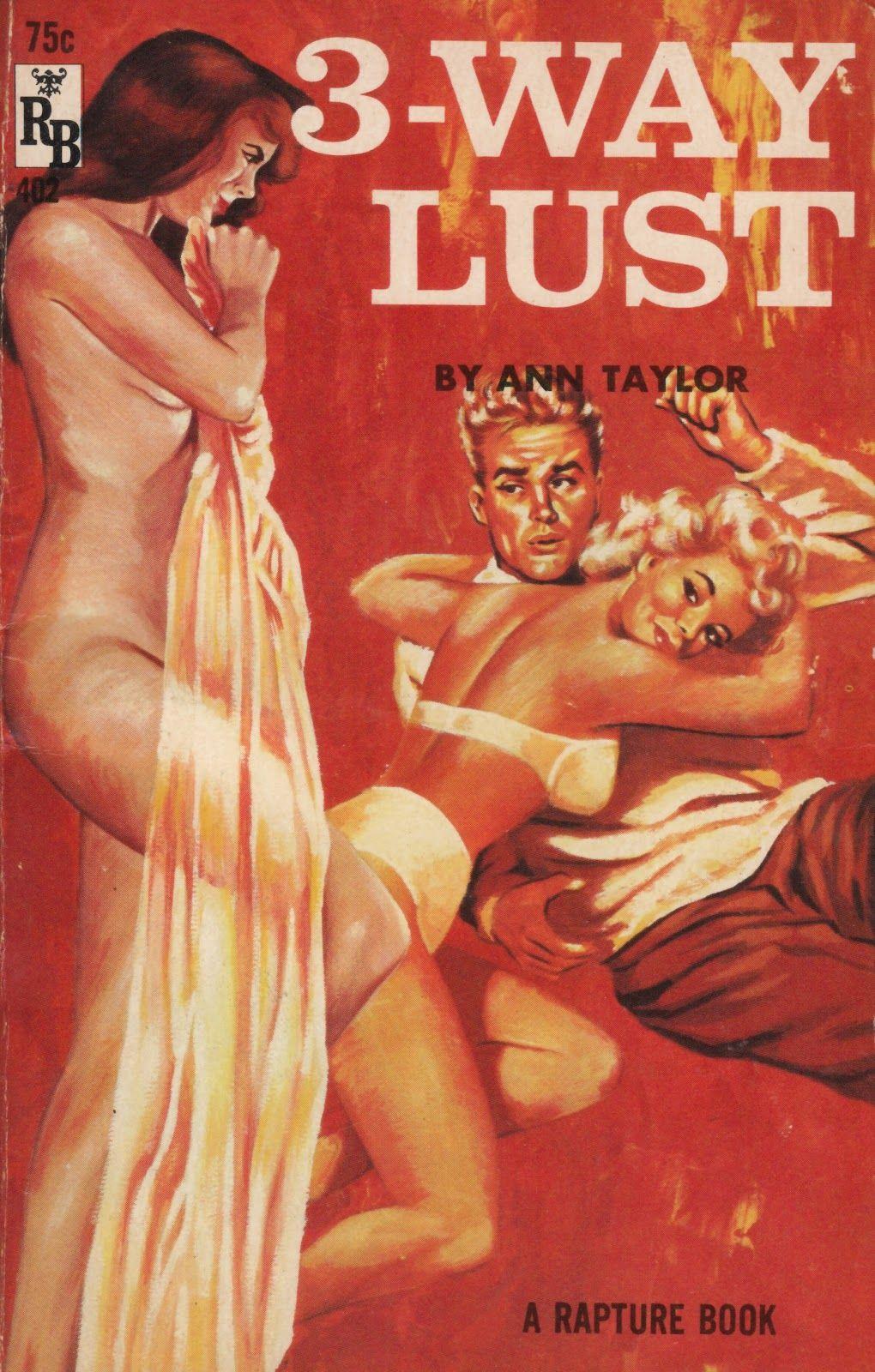 Vintagr erotic books