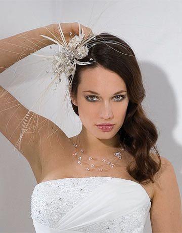 Long Side Scalloped Wedding Hairstyle Bridesmaid Bridal Wedding