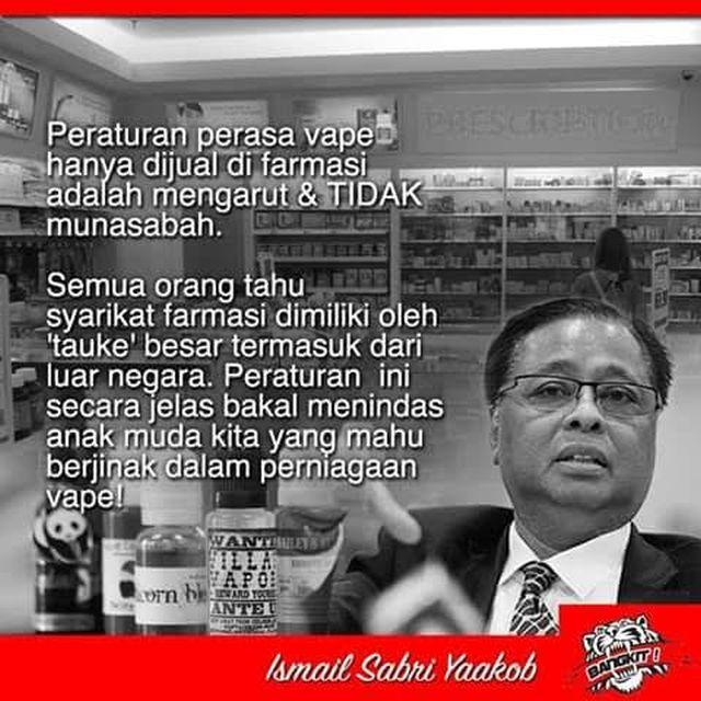 Ismail Sabri Sibuk Sibuk Tentang Vape Low Yat 2 Apa Cerita