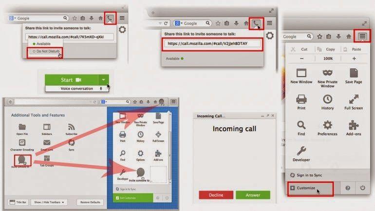 ¡Con la nueva versión de Firefox podrás hacer videollamadas!   Chermary