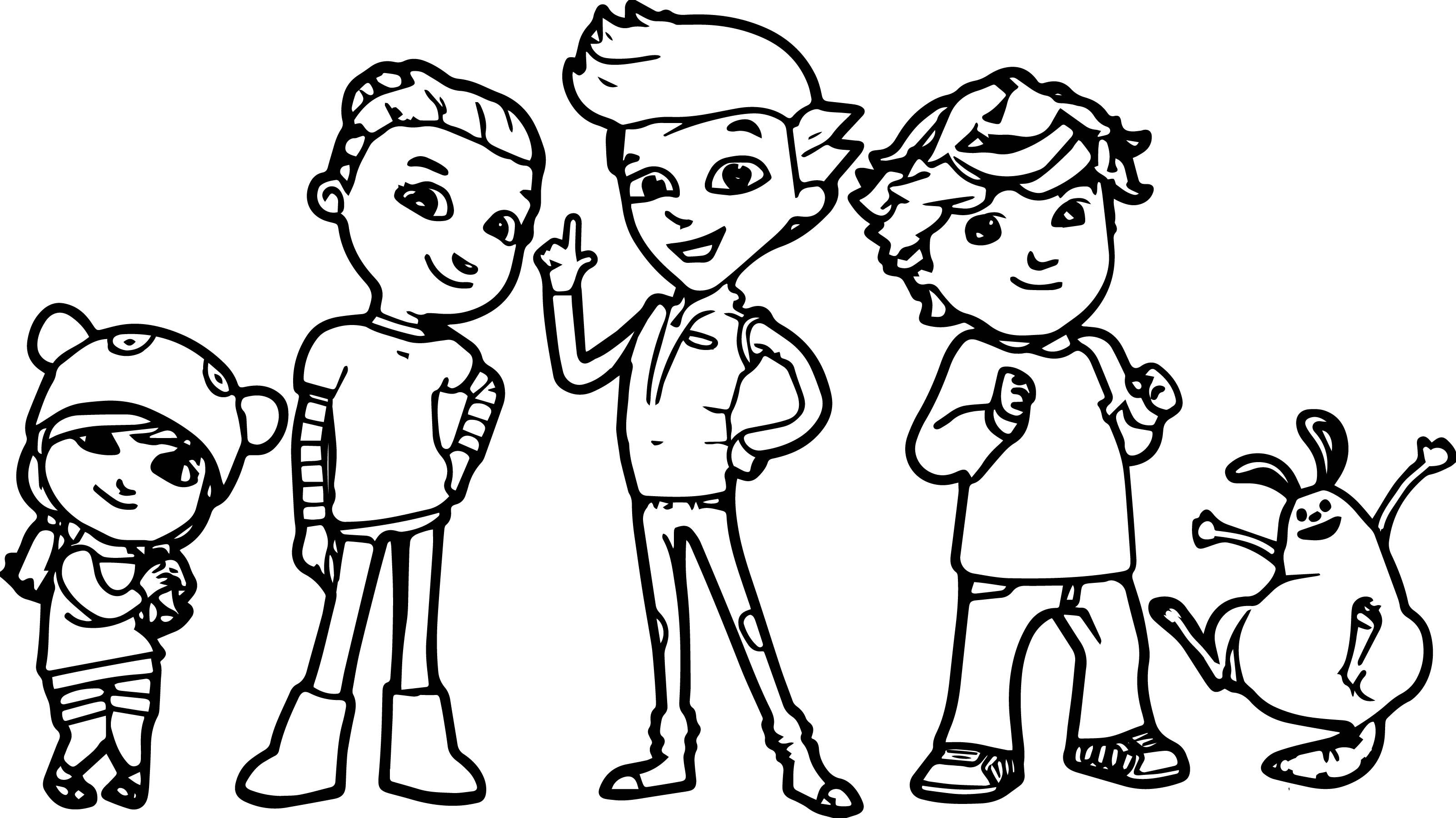 Pbs Kids Coloring Pages Printable