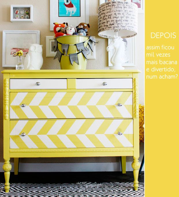 A space colorful can cheer the environment, exactly that it is alone a yellow furniture.