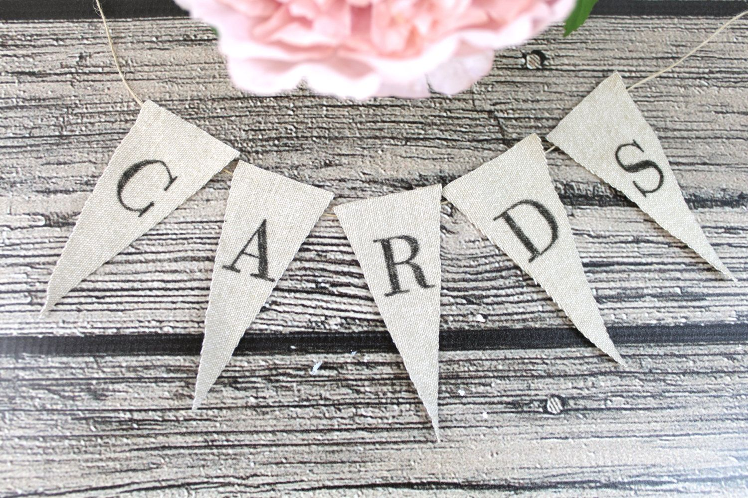 free bridal shower advice card template%0A Rustic Cards or Advice Banner Linen Bunting by ThePaperWalrus