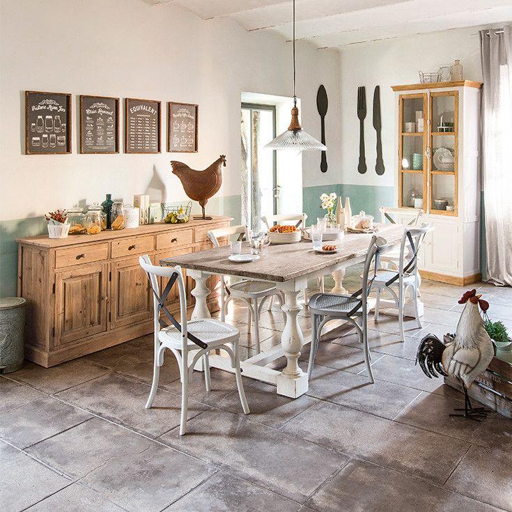 Mobili e arredo d 39 interni casa di campagna maisons du monde cose belle per la casa - Mobili maison du monde opinioni ...