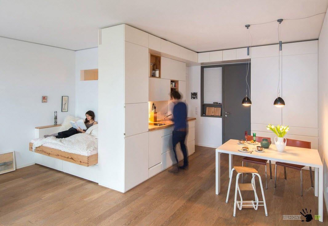 дизайн небольшой квартиры фото