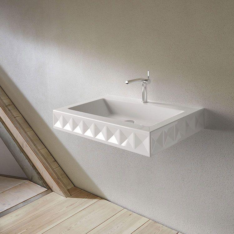 25 modelli di lavabo bagno sospeso dal design moderno bagni di design pinterest lavabo for Modelli bagno moderno