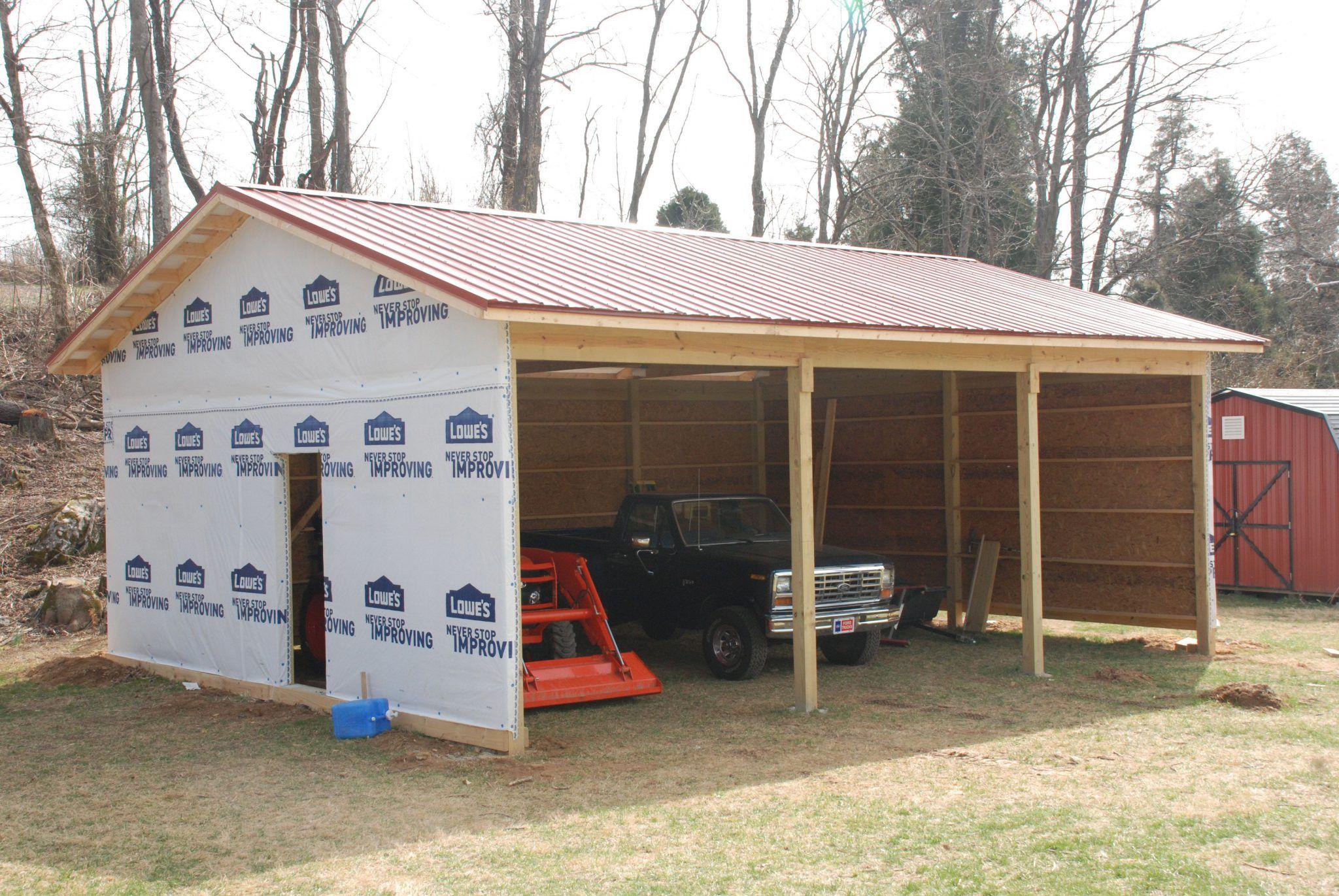 Wie baue ich eine Garage Holzhaus, Fachwerkhäuser, Pläne