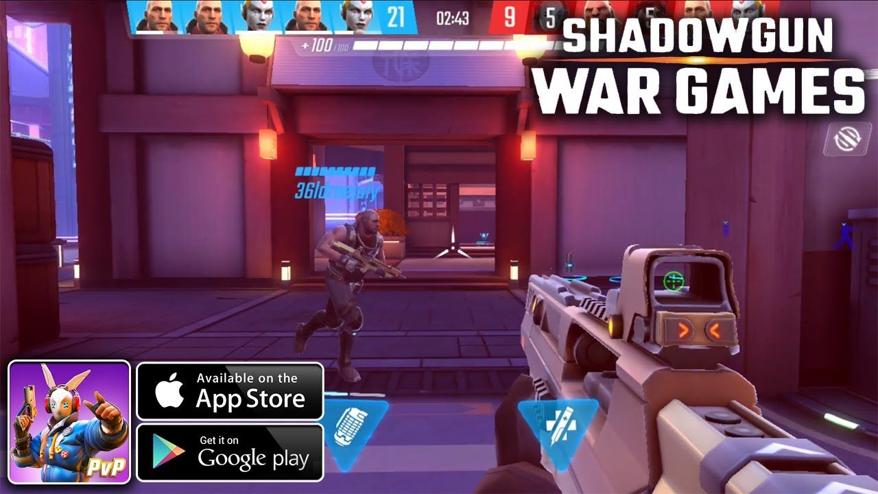 Shadowgun War Games Online PvP FPS Android/iOS Gameplay