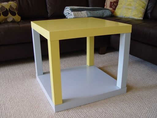 Two ikea lack side tables put together about 8 each to - Mobili ikea modificati ...