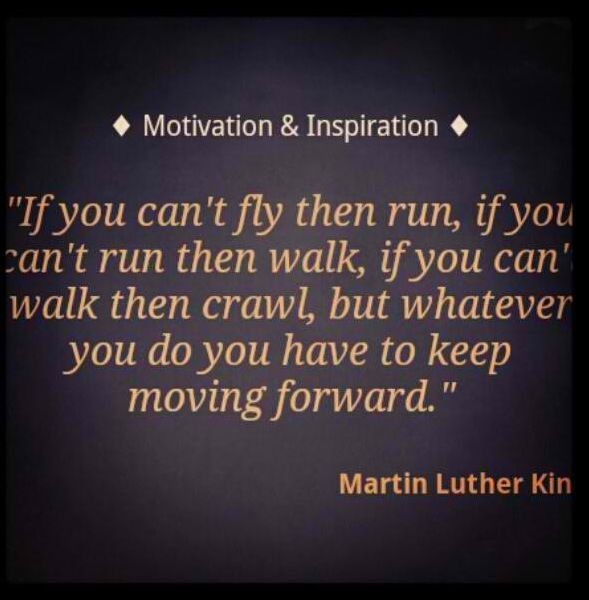 Martin Luther King Quotes Inspirational Motivation: Wise Motivation Quote Martin Luther King Never Give Up