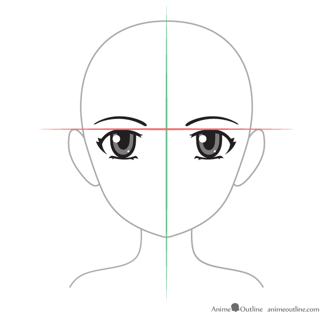 How To Draw Anime Eyes And Eye Expressions Tutorial Animeoutline Eye Drawing How To Draw Anime Eyes Eye Expressions