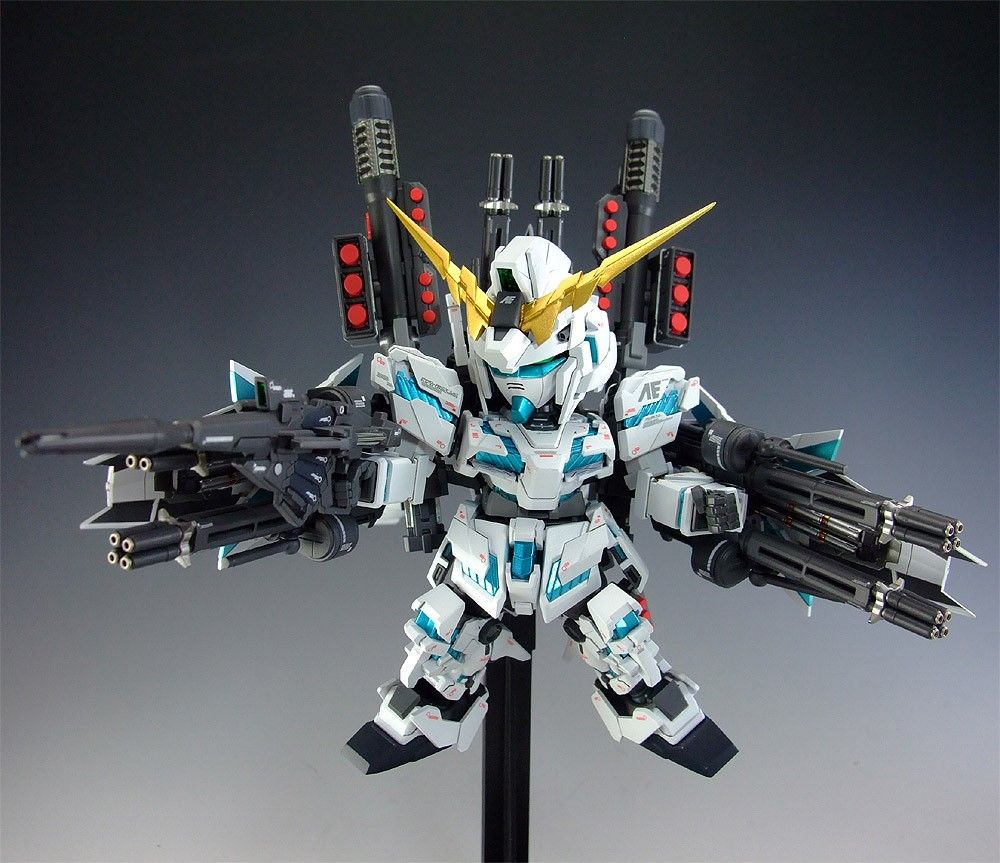 P//B Limited FW CONVERGE CORE RX-0 Full Armor Unicorn Gundam Figure BANDAI