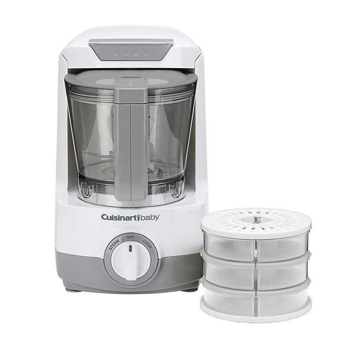 Cuisinart Baby Food Maker Bottle Warmer With Storage Containers