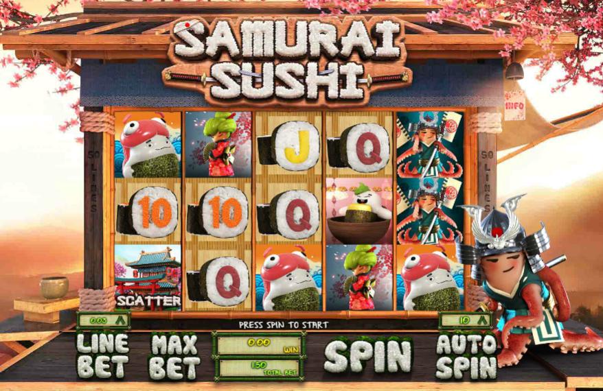 Samurai Sushi   Http://slot Machines Gratis.com/samurai