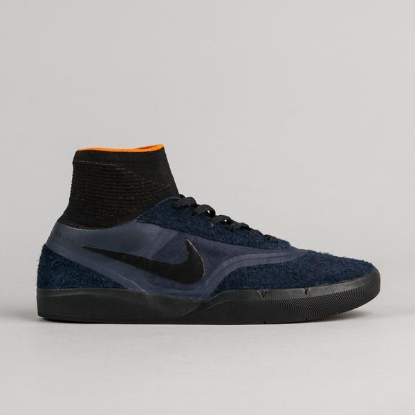 8cc30d62bf5 ... Nike SB x Numbers Hyperfeel Koston 3 Shoes - Obsidian Black - Copper  Flash ...