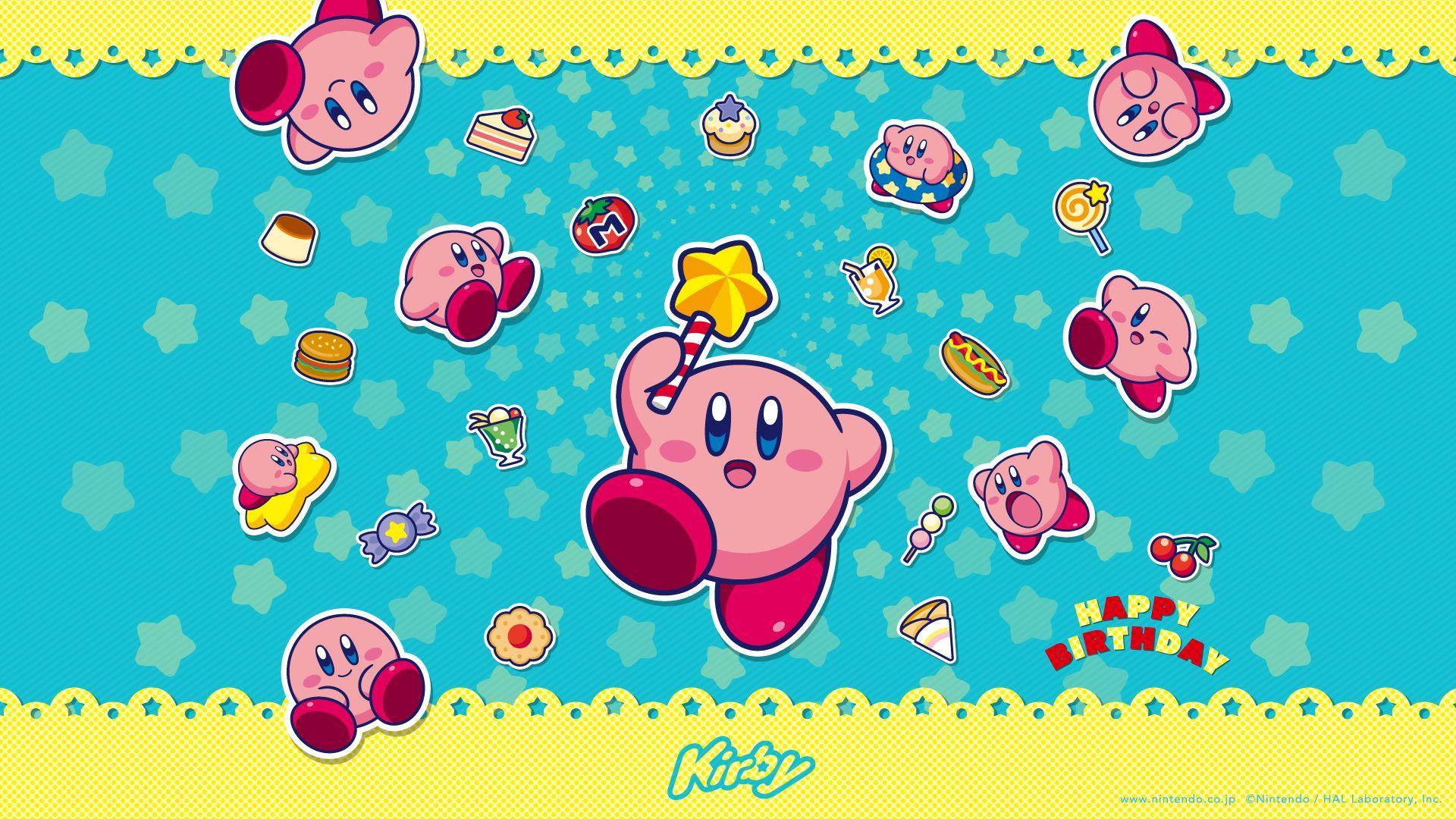 Elex Game Wallpaper Kirby Kirby Nintendo Happy Wallpaper