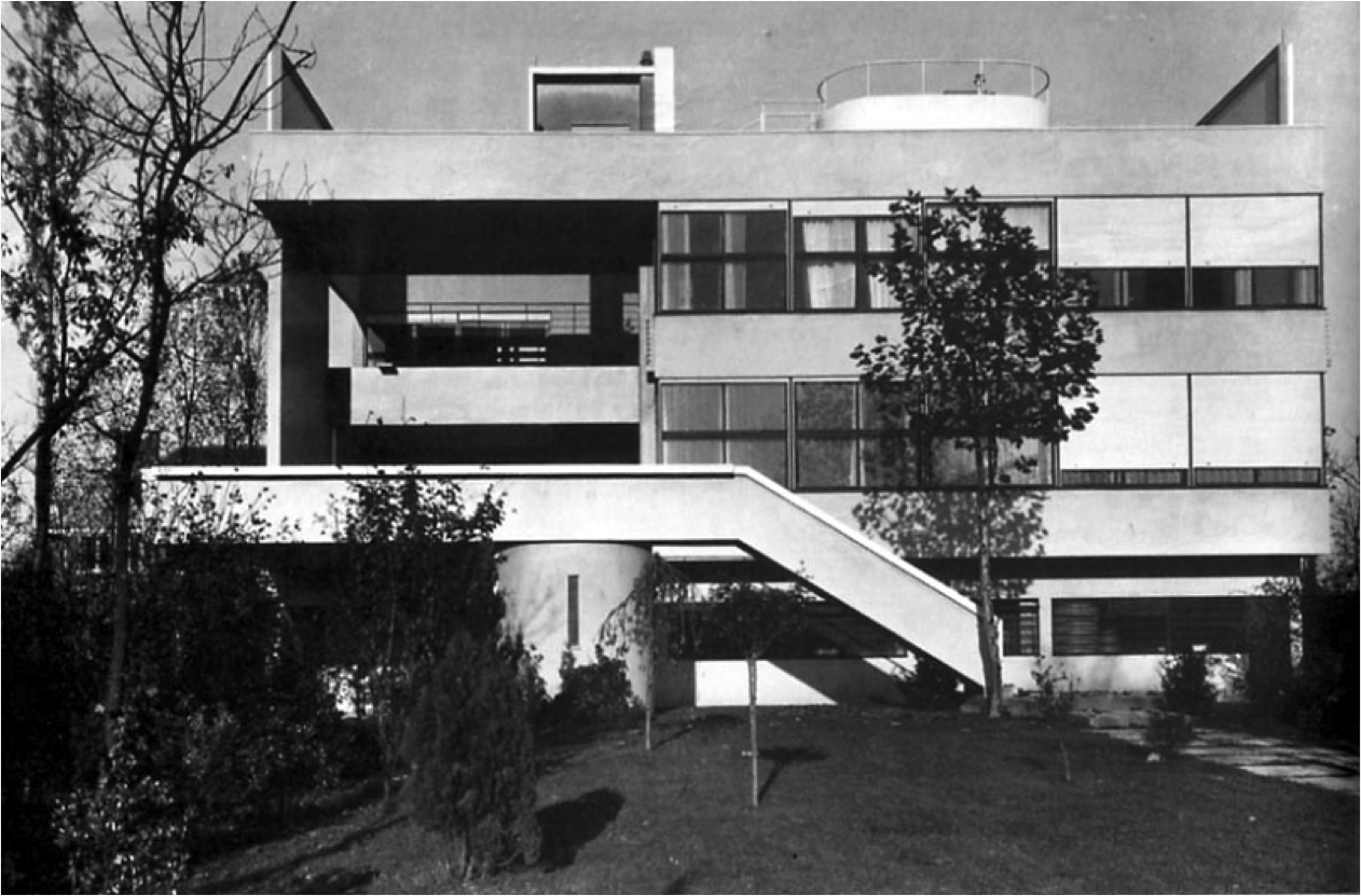 Le corbusier villa stein garches 1927 a history of for Modern house history