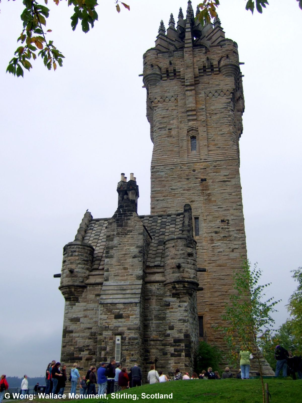 Wallace Monument (victorian gothic) by John Rochead, Stirling Scotland