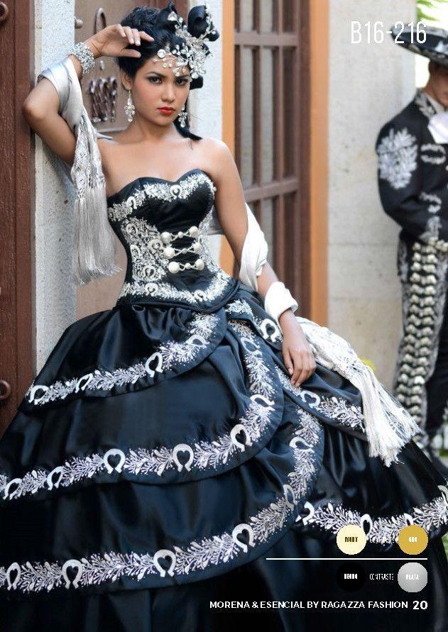0afa9f69c9 A-Line Charro Quinceanera Dress by Ragazza Fashion Style B16-216 ...