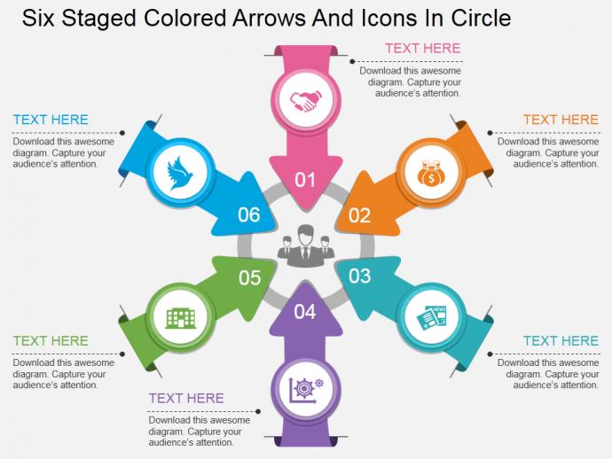 Powerpoint Tutorial 17 Create A Circular Hub Spoke Diagram In Just 5 Minutes Powerpoint Tutorial Powerpoint Tips Powerpoint Design