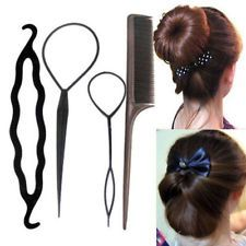 Newest Fashion Twist Styling Clip Stick Bun Maker Braid Tool Hair Accessories : Want more? https://bitly.com/showmemorepls