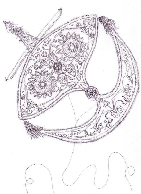 Pin By Garance Gtrd On Wau Bulan Embroidered Canvas Art Drawings Batik Art
