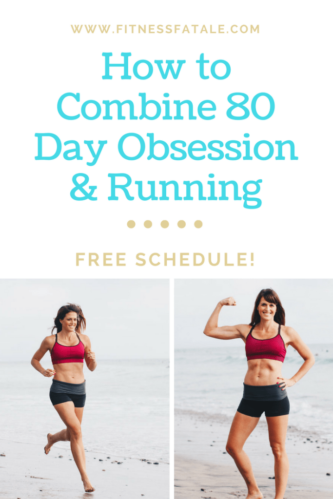How to Combine 80 Day Obsession and Running (With Sample Schedule) is part of 80 day obsession workout - 80 Day Obsession has been out for about 2 5 weeks and it has been a major hit with my challengers! People are loving the variety of the workouts, the new challenge and already seeing incredible phy…