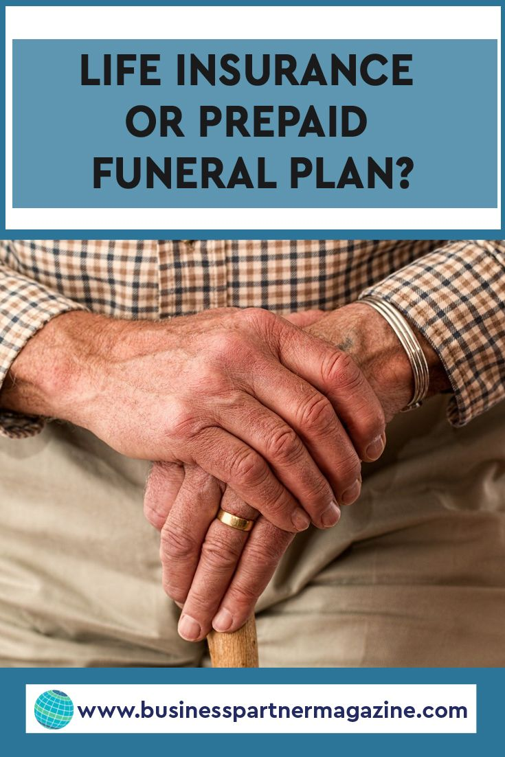 Life insurance or prepaid funeral plan funeral planning