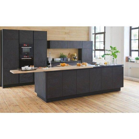 Designstarke Einbauküche von ALNO Keramik wird neu entdeckt - arbeitsplatte küche online bestellen