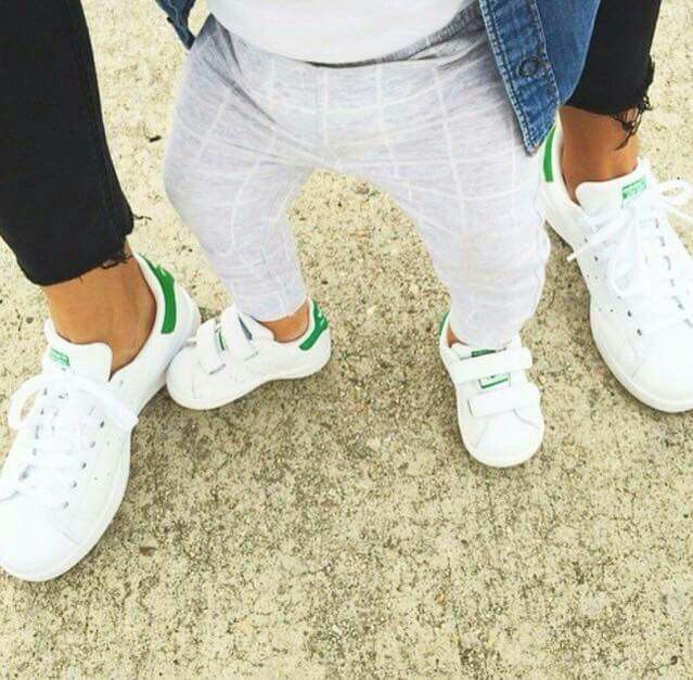 Mama + mini Stan Smiths. @littledreambird | Shoes | Ropa