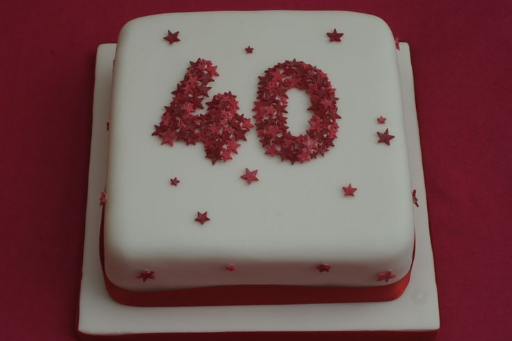 50th ruby wedding anniversary cake party ideas pinterest 60th