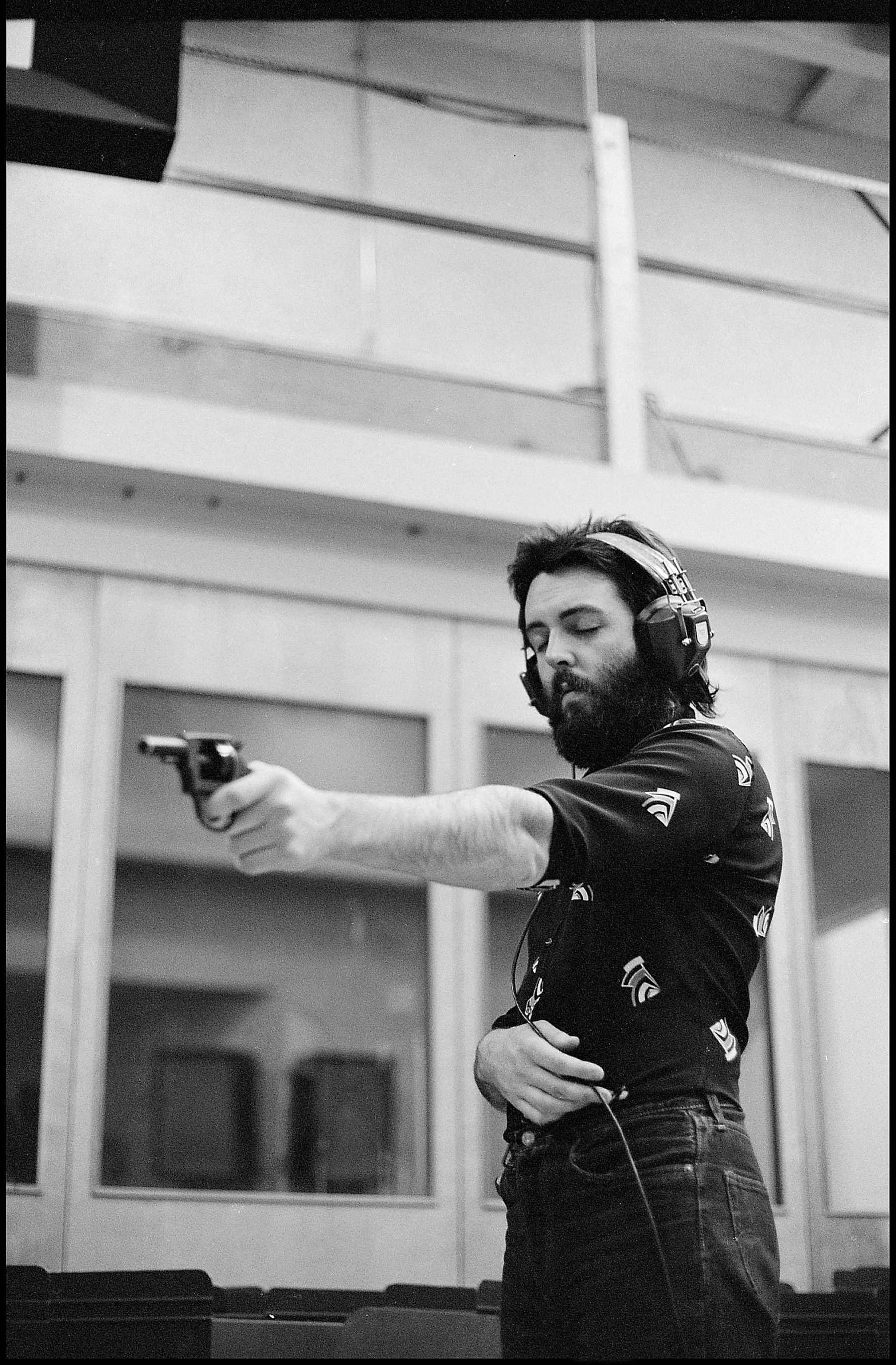 Paul during the 'RAM' recording sessions, A&R Studios, New