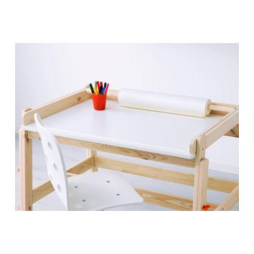 Ikea Wit Kinderbureau.Flisat Kinderbureau Verstelbaar Ikea Home Office Kids