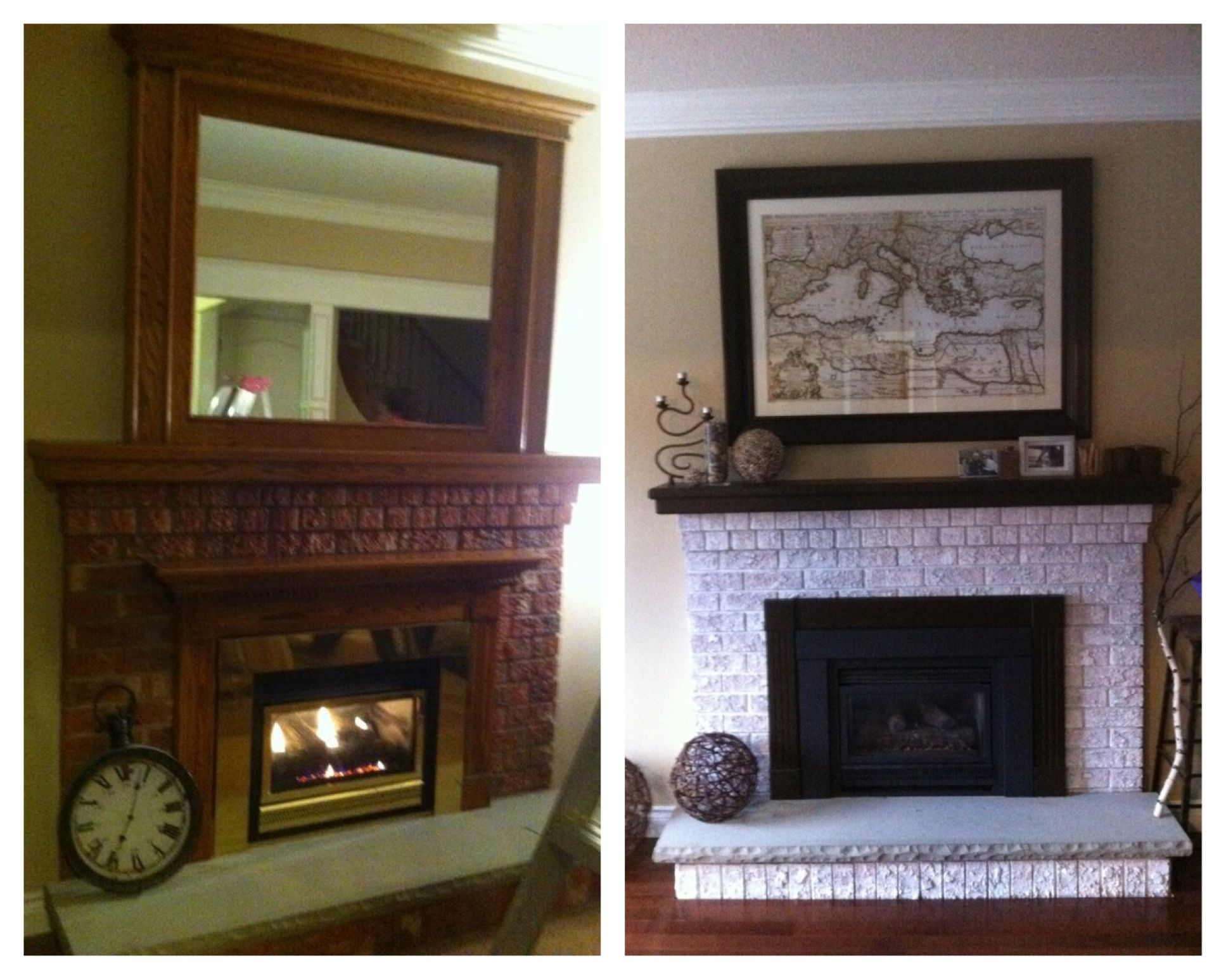 Pin By Laurie Morrison On House Stuff Home Fireplace Updating House Fireplace Makeover