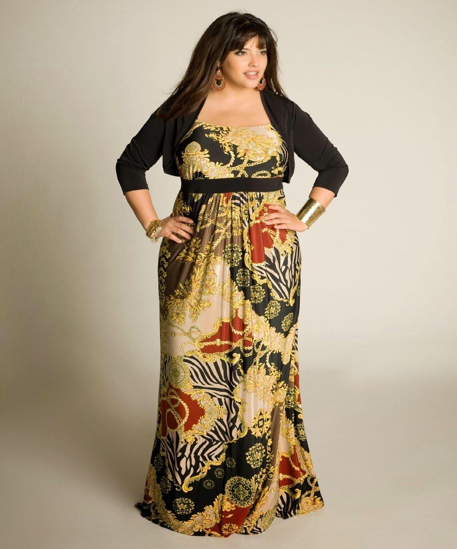 286f7b8cc MAXI VESTIDOS PARA GORDITAS | Singer | Vestidos de moda, Moda con ...