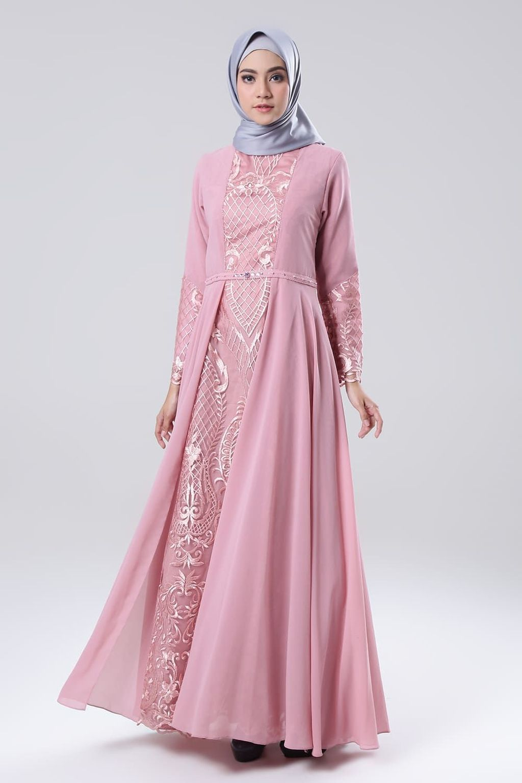 30 Party Gamis Models For Fat Women In