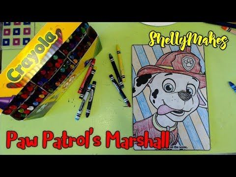 Coloring Pages Of Paw Patrol : Paw patrol marshall is on the scene crayola coloring page